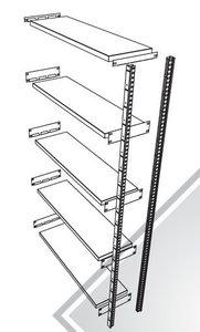 GS3 Legbordstelling 2000x400x980 met 4 legborden aanbouwsectie